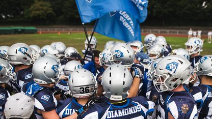 Schnuppercamp American Football der Darmstadt Diamonds Jugend
