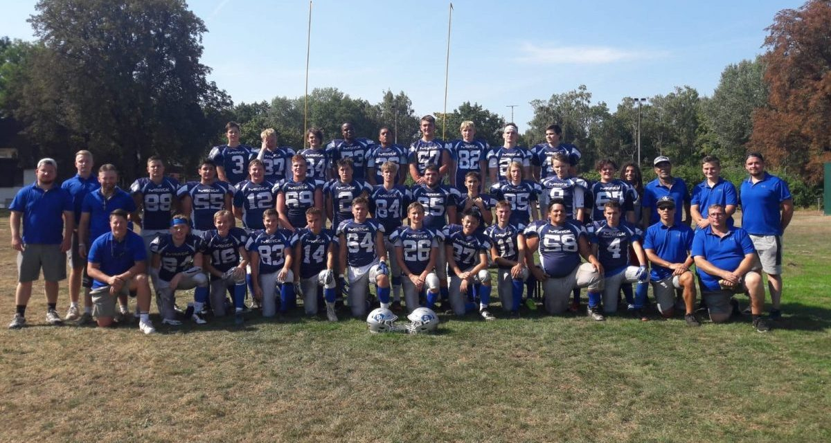 U17 Team Jugend Sport American Football