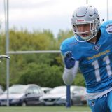 luca sack darmstadt diamonds training touchdown saarland hurricanes