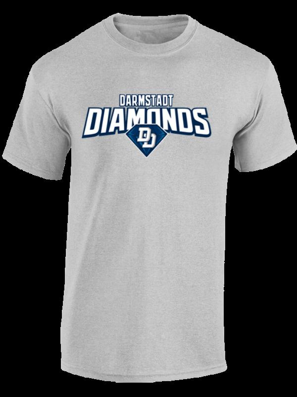 diamonds epic t-shirt herren gray