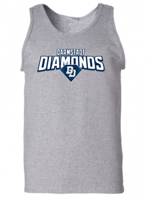 diamonds men tanktop grey fanwear
