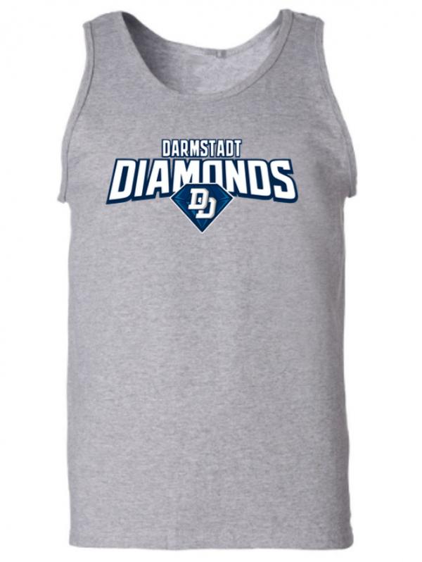 diamonds men tanktop grey fanwear