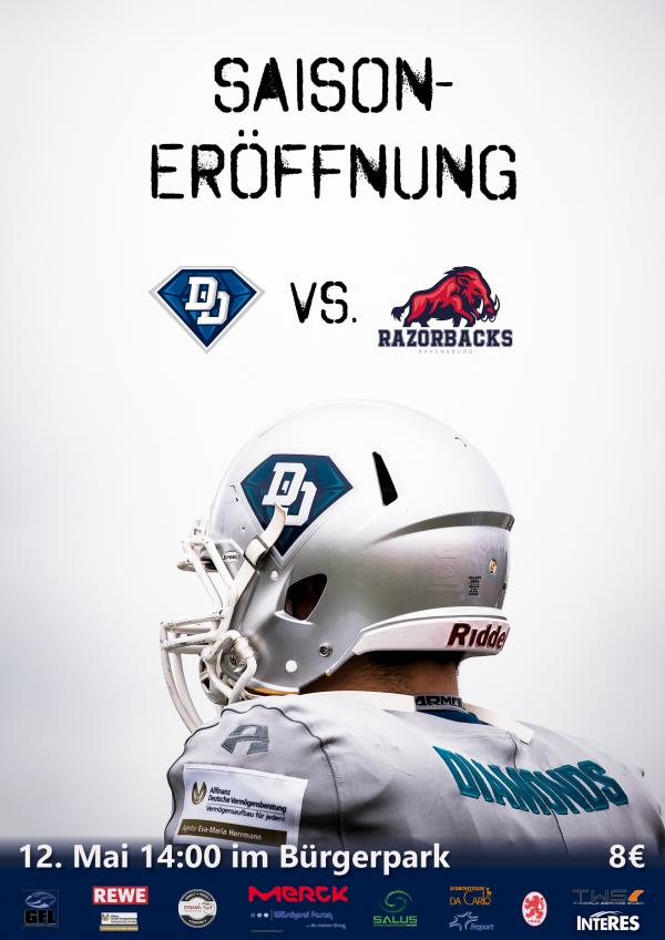Darmstadt Diamonds vs. Ravensburg Razorbacks