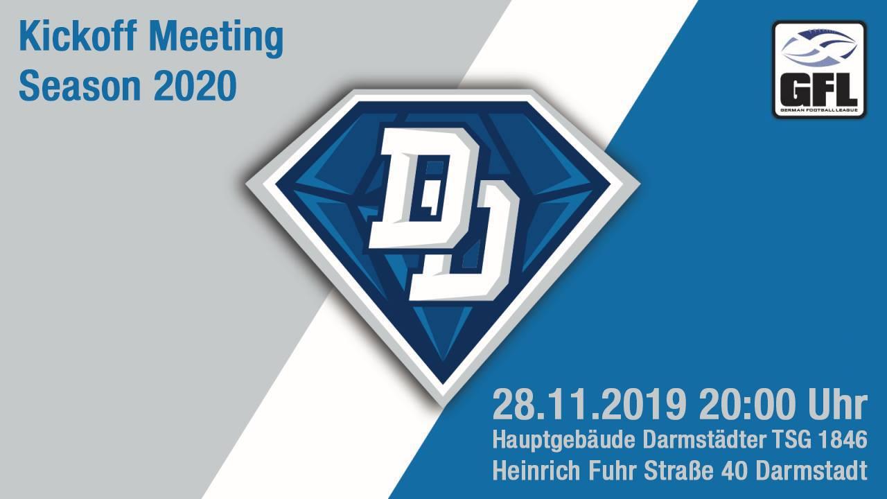 diamonds kickoff meeting 2020 gfl2