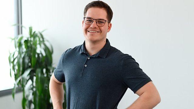 Physiotherapeut Victor Rauchschwalbe eröffnet Praxis