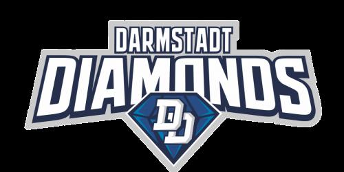 Auto Aufkleber Darmstadt Diamonds